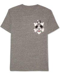 Jem - Men's Mickey Mouse Graphic-print Pocket T-shirt - Lyst