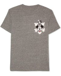 Jem - Men's Mickey Mouse Graphic-print Pocket T-shirt - Lyst