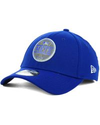e8e4c3e3d30 KTZ - New York Mets Circle Reflect 39thirty Stretch Fitted Cap - Lyst