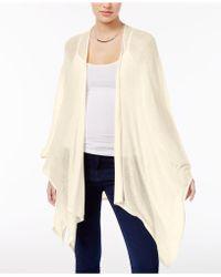 Lyst - Inc International Concepts Dolmansleeve Shoulderless Tunic ... 43790238f