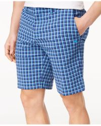 "Tommy Bahama - Check Your Swing Classic-fit Stretch Windowpane 10"" Shorts - Lyst"