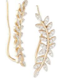 Macy's - Wrapped In Lovetm Diamond Ear Crawlers (1/5 Ct. T.w.) In 14k Gold, Created For - Lyst