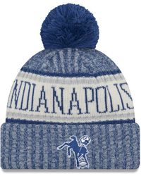 san francisco 5956d 2e6f1 KTZ Indianapolis Colts Wowie Visor in Blue for Men - Lyst