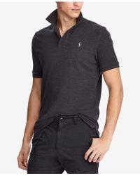 Polo Ralph Lauren - Men's Custom Slim Fit Weathered Mesh Polo - Lyst