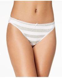 Charter Club - Pretty Cotton Bikini, Only At Macy's - Lyst