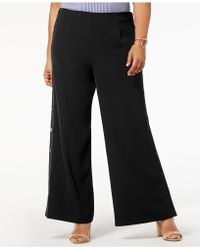 Love Scarlett - Plus Size Pull-on Sailor Pants - Lyst