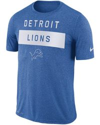 fcd60ccb0aef Lyst - Nike Men s Detroit Lions Breast Cancer Awareness Legend T ...