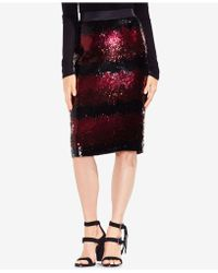 Vince Camuto | Sequined Midi Skirt | Lyst