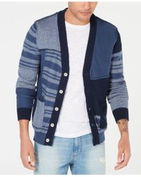 481b3bcea Lyst - American Rag Men s Southwest Cardigan Sweater in Gray for Men