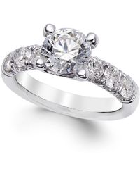 X3 - Certified Diamond Engagement Ring (2-1/2 Ct. T.w.) In 18k White Gold - Lyst