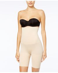 Maidenform - Ultra Tummy-control Seamless High Waist Thigh Slimmer 12622 - Lyst