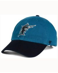 newest f013e cd212 47 Brand Florida Marlins 2 Tone Coop Mvp Cap in Blue for Men - Lyst