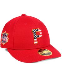 KTZ - Pittsburgh Pirates Stars And Stripes Low Profile 59fifty Fitted Cap 2018 - Lyst