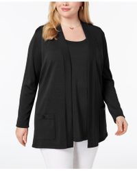 Anne Klein - Plus Size 2-pc. Jumper Set, Created For Macy's - Lyst