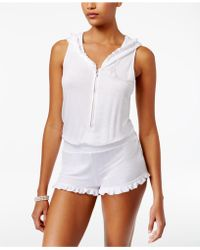 f5adc572003 Betsey Johnson - French Terry Bridal Romper - Lyst