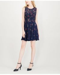 Maison Jules - Floral-print Fit & Flare Dress, Created For Macy's - Lyst