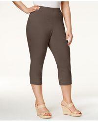 Style & Co. - Plus Size Capri Trousers - Lyst