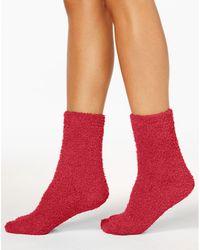 Charter Club - Women's Solid Butter Socks - Lyst
