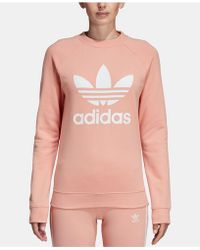 adidas - Originals Adicolor Cotton Trefoil Sweatshirt - Lyst