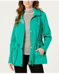 3aeb26248de8 Charter Club - Water-resistant Hooded Anorak Jacket, Created For Macy's -  Lyst