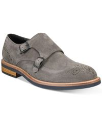 Kenneth Cole Reaction - Klay Double-monk Strap Oxfords - Lyst