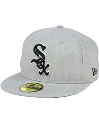 new concept b081f 5c4fa KTZ Chicago White Sox Practice Original Fit 9fifty Snapback Cap in Black  for Men - Lyst