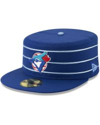 finest selection 3f5fa 77c8b KTZ Toronto Blue Jays Night Tropic 9fifty Snapback Cap in Black for Men -  Lyst