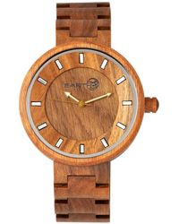 Earth Wood - Branch Wood Bracelet Watch Olive 45mm - Lyst