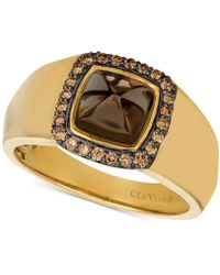 309228204 Le Vian Chocolate Diamond Butterfly Ring (7/8 Ct. T.w.) In 14k Rose Gold in  Metallic - Lyst