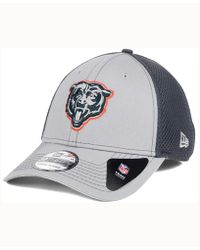 check out d2d71 335ff KTZ Chicago Bears Sport Knit Hat in Blue for Men - Lyst