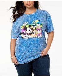 Disney - Plus Size Cotton Beach Buddies T-shirt - Lyst