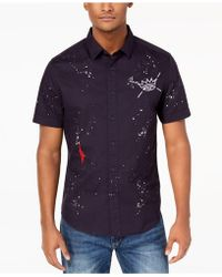 Sean John - Men's Multi-graphic Shirt - Lyst