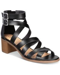 Material Girl - Danna Sandals, Created For Macy's - Lyst