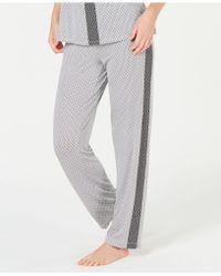 Alfani - Ultra Soft Side-stripe Pyjama Pants, Created For Macy's - Lyst