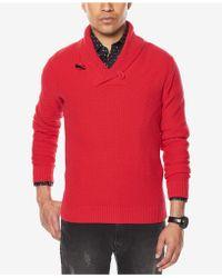 Sean John - Men's Shawl-collar Sweater - Lyst