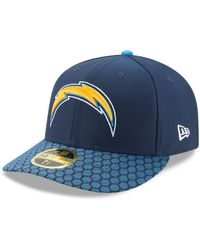 0d41914adc5 Lyst - KTZ 59fifty Low Profile Fitted Cap in Blue for Men
