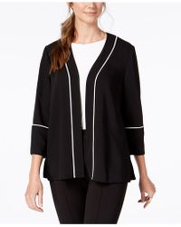 Alfani - Pleated-back Belted Blazer, Created For Macy's - Lyst