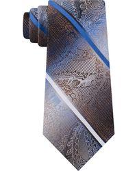 Van Heusen - Harvey Paisley Stripe Tie - Lyst