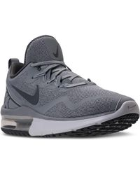 0df275a0f73 Lyst - Nike Men s Air Max Fury Running Sneakers From Finish Line in ...