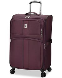"""London Fog - Langley 25"""" Expandable Spinner Suitcase - Lyst"""