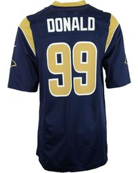 Nike - Men'S Aaron Donald St. Louis Rams Game Jersey - Lyst