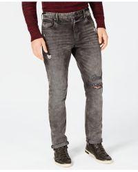 American Rag - Slim-fit Stretch Ripped Jeans, Created For Macy's - Lyst
