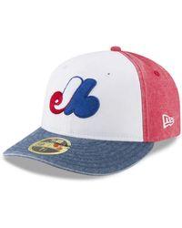 KTZ - Montreal Expos 59fifty Bro Cap - Lyst