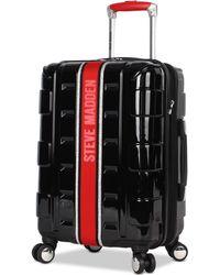 "Steve Madden - Street 20"" Hardside Expandable Carry-on Spinner Suitcase - Lyst"