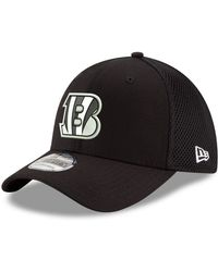 check out 27486 f5789 KTZ Cincinnati Bengals Contrast 39thirty Cap in Black for Men - Lyst