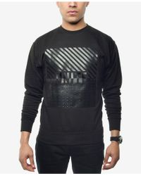 Sean John - Men's Graphic-print Sweatshirt - Lyst