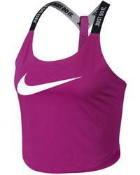 Nike - Dry Cropped Training Tank Top - Lyst