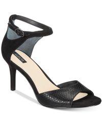 Alfani - Galeah Peep Toe Sandals, Created For Macy's - Lyst