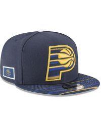 uk availability 5c9f7 db5a1 KTZ - Indiana Pacers City Flag 9fifty Snapback Cap - Lyst