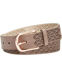 INC International Concepts - Perforated Belt, Created For Macy's - Lyst